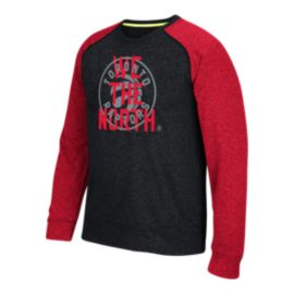 Toronto Raptors Logo Interception Raglan Shirt