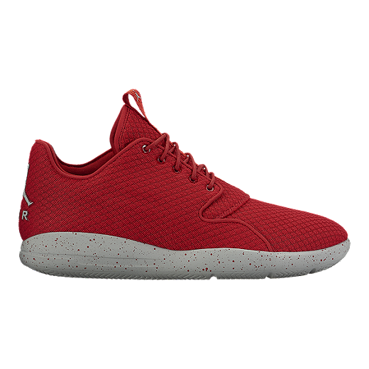 differently c5c2d beea6 Nike Men s Jordan Eclipse Basketball Shoes - Red Grey   Sport Chek