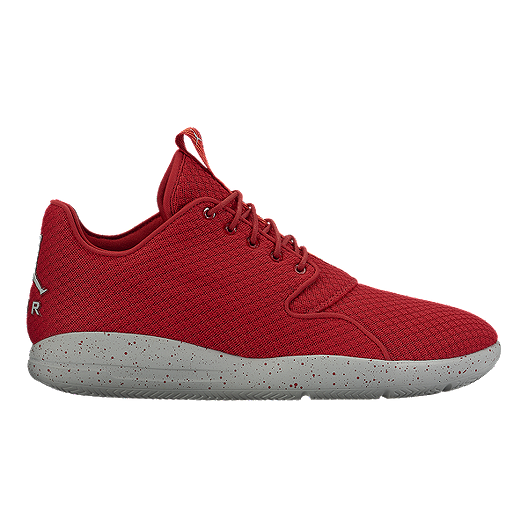 differently 716d5 d8576 Nike Men s Jordan Eclipse Basketball Shoes - Red Grey   Sport Chek