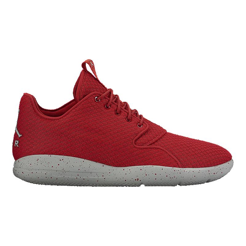 82d412cc0 Nike Men s Jordan Eclipse Basketball Shoes - Red Grey