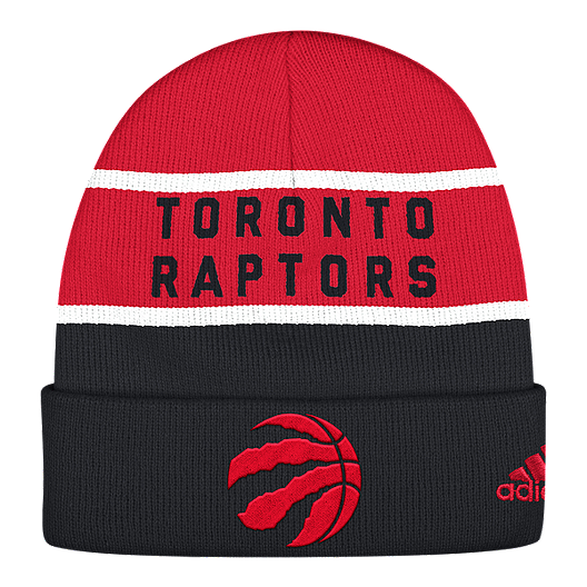 7a0341c1d62 Toronto Raptors Striped Cuffed Toque | Sport Chek