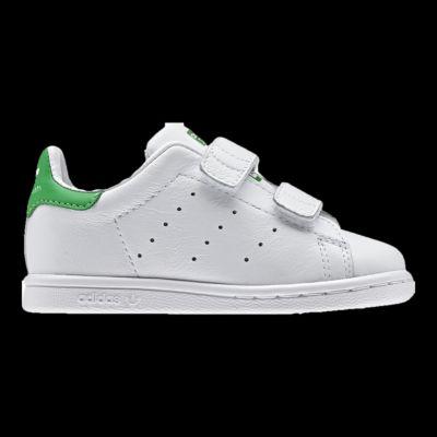 Adidas Bebe 'Stan Smith Di Scarpe Bianco / Verde Sport Chek