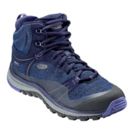 Keen Women's Terradora Mid Waterproof Hiking Boots - Aura/Liberty