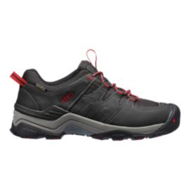 Keen Men's Gypsum II Waterproof Hiking Shoes - Black/Tango
