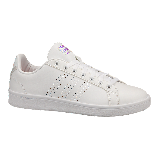 quality design 71edc 25904 adidas Women s CloudFoam Advantage Shoes - White   Sport Chek