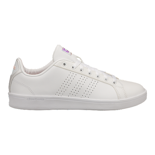 adidas Women's CloudFoam Advantage Shoes White | Sport Chek
