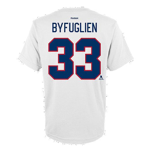 size 40 93ee6 510c8 Winnipeg Jets Kids' Heritage Classic Dustin Byfuglien T ...
