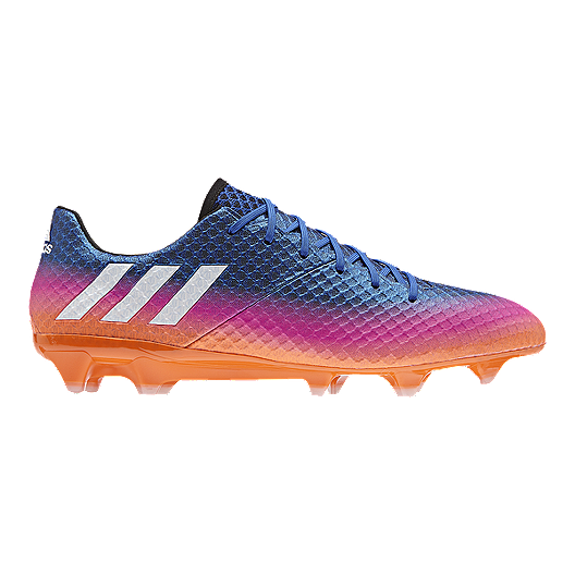 d2689f85817 adidas Men s Messi 16.1 FG Outdoor Soccer Cleats - Blue Pink Orange ...