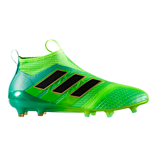a5266b439ae adidas Men s Ace 17.1 FG Outdoor Soccer Cleats - Green Black