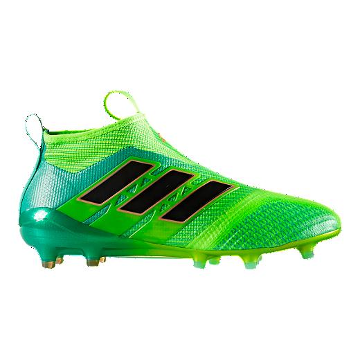 cf694ce7db7 adidas Men s Ace 17.1 FG Outdoor Soccer Cleats - Green Black