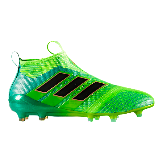 brand new 8287e e5d3a adidas Men's Ace 17.1 FG Outdoor Soccer Cleats - Green/Black ...
