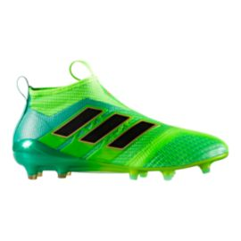 adidas Men's Ace 17.1 FG Outdoor Soccer Cleats - Green/Black
