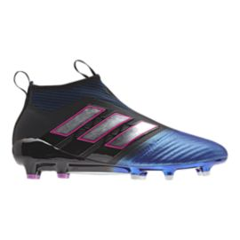 adidas Men's Ace 17.0 FG Outdoor Soccer Cleats - Blue/Black