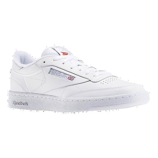 a0a0b8382d1 Reebok Men s Club C 85 Shoes - White