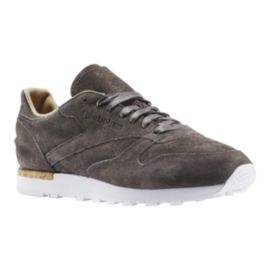 Reebok Men's CL Leather Shoes - Grey