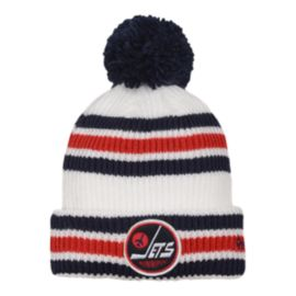 Youth Winnipeg Jets Heritage Classic Player Cuff Pom Knit