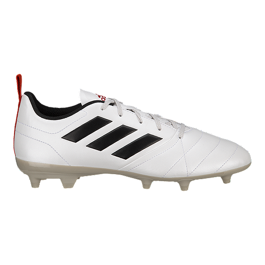 adda545d3 adidas Women's Ace 17.4 FG Outdoor Soccer Cleats - White/Black/Red ...