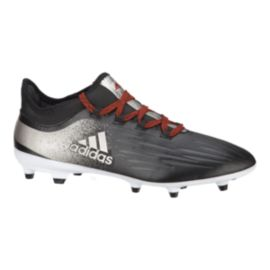 adidas Women's X 17.2 FG Outdoor Soccer Cleats - Black/Silver