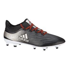 4df9d5c2e adidas Women s X 17.2 FG Outdoor Soccer Cleats - Black Silver
