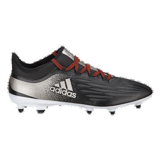 01a5d9b5db6 adidas Women s X 17.2 FG Outdoor Soccer Cleats - Black Silver ...