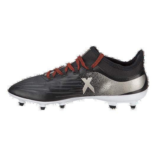 739cd1a03f3 adidas Women s X 17.2 FG Outdoor Soccer Cleats - Black Silver. (0). View  Description
