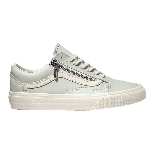 41366c1407 Vans Old Skool Zip (Leather) Shoes - Blue
