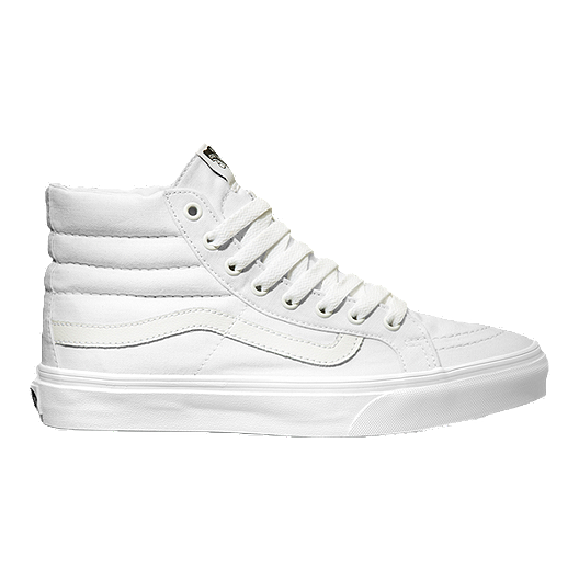 b39e671f8d01 Vans Sk8-HI Slim (Canvas) Shoes - True White