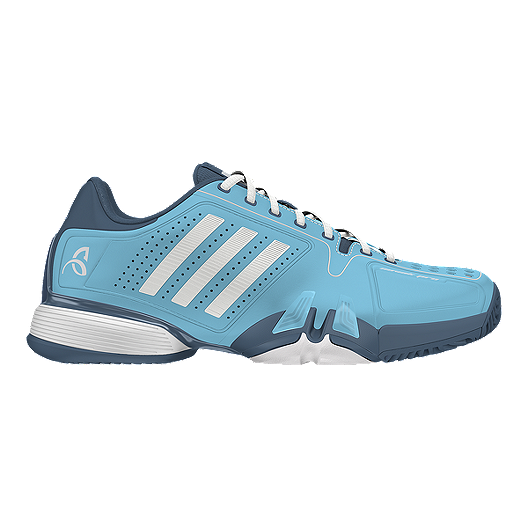 reputable site c5395 d3958 adidas Men s Novak Pro Tennis Shoes - Blue White   Sport Chek
