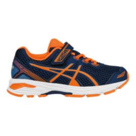 ASICS Kids' GT-1000 5 Preschool Running Shoes - Blue/Orange