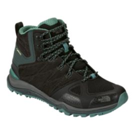 The North Face Women's Ultra Fastpack II Mid GTX Hiking Boots - Black/Sea