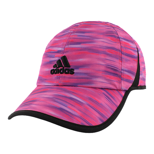 1ca31afb8 ... hot adidas womens adizero extra run hat shock pink black whimsy print  38649 0266d