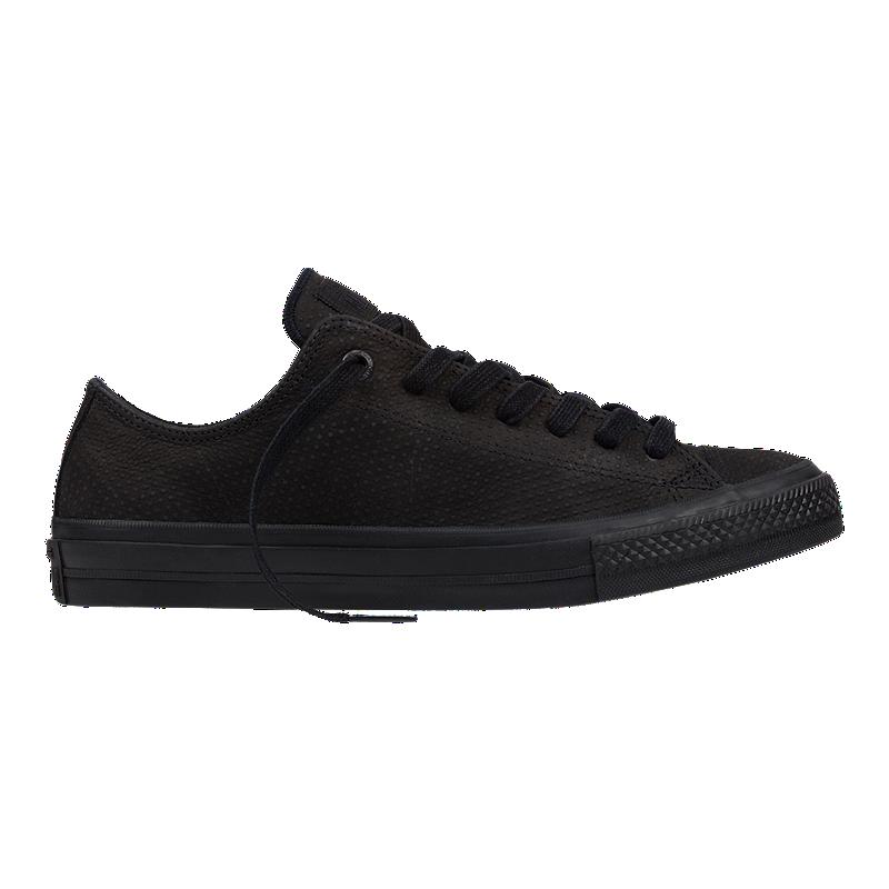135913a3e29c19 Converse Men s CT II Ox (Lux) Shoes - Black