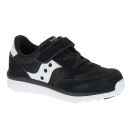 Saucony Toddler Baby Jazz Lite Casual Shoes - Black/White