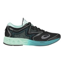 ASICS Women's Gel Noosa FF Running Shoes - Black/Green