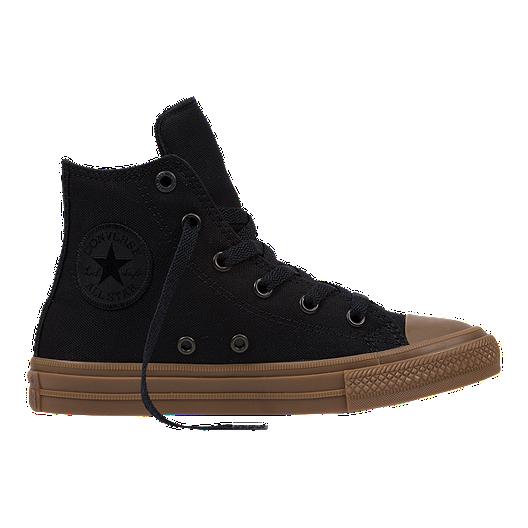 9824e9815414 Converse Kids  Chuck Taylor II HI Preschool Casual Shoes - Black Gum ...