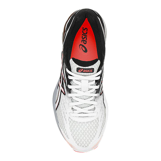ASICS Women's Gel Flux 4 Running Shoes WhiteBlackCoral Orange
