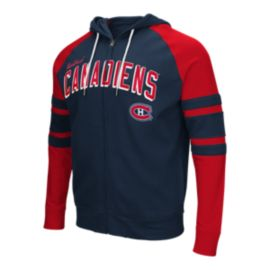 Montreal Canadiens Stadium Full Zip Hoodie