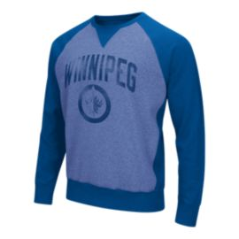 Winnipeg Jets Play Clock Crew Fleece Top