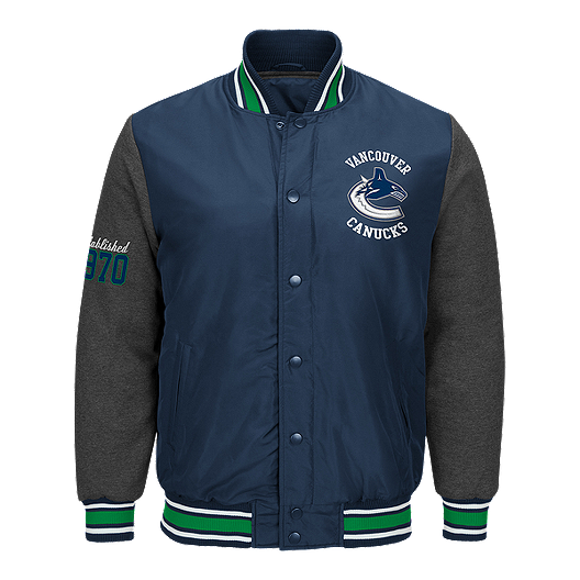 9c19028a308 Vancouver Canucks Original Varsity Jacket