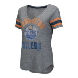 Edmonton Oilers Any Sunday Women's Tee