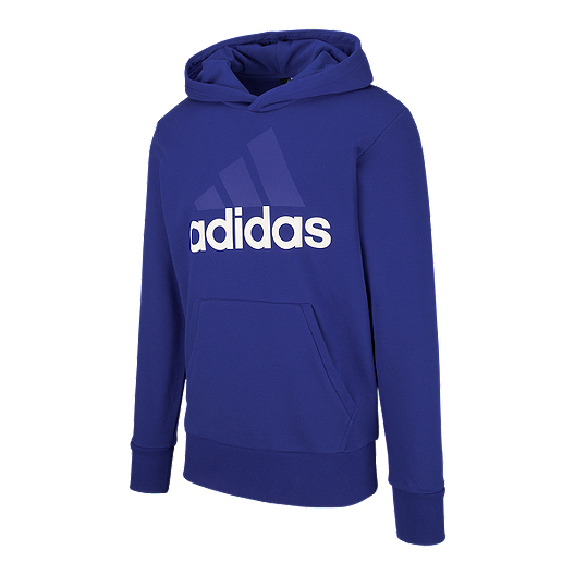 baf1e9e5f5de adidas Men s Essentials Linear FT Pullover Hoodie