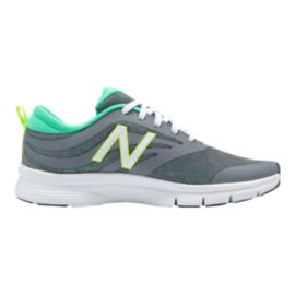 New Balance Women's 713 B Training Shoes - Grey/Turqoise