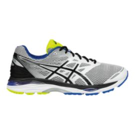 ASICS Men's Gel Cumulus 18 Running Shoes - White/Black/Blue