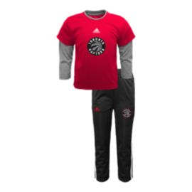 Toronto Raptors Free Throw Toddler Tee and Pant Set