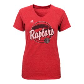 Toronto Raptors Logo Ball Girls Tee