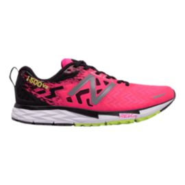 New Balance Women's 1500v3 Running Shoes - Pink/Black/Lime Green