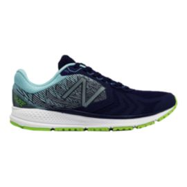 New Balance Women's Vazee Pace v2 Running Shoes - Dark Blue/Light Blue/Green