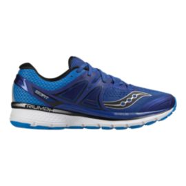 Saucony Men's Triumph ISO 3 2E Wide Width Running Shoes - Blue/Black
