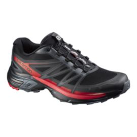 Salomon Men's Wings Pro 2 Running Shoes - Black/Red