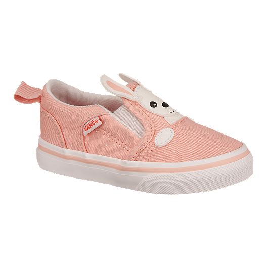 71b8b361eb Vans Toddler Girls  Asher V Kangaroo Skate Shoes